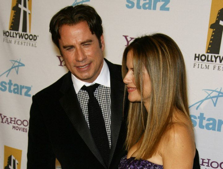 Side view of Kelly Preston's hair