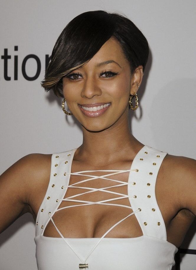 Rihanna's short hairstyle with tapering and Keri Hilson's ...