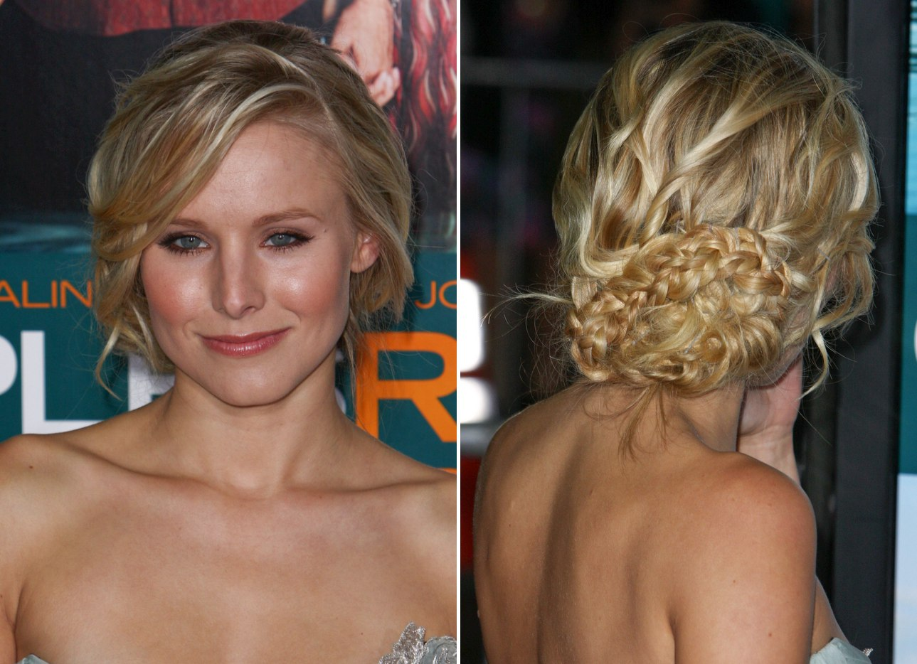 Kristen Bells Up Style With A Braid And Lauren Ambrose With Long