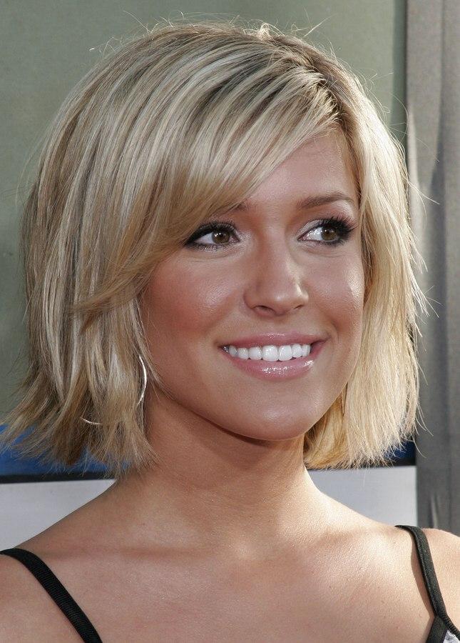 Kristin cavallari with her hair cut short and halfway up her neckline kristin cavallari with short hair winobraniefo Images