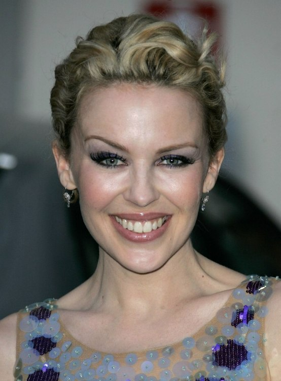 Andie Macdowell Kylie Minogue Short Retro Hairstyle