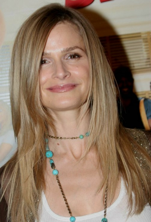 Kyra Sedgwick With Long Super Straight And Exquisite Hair For A