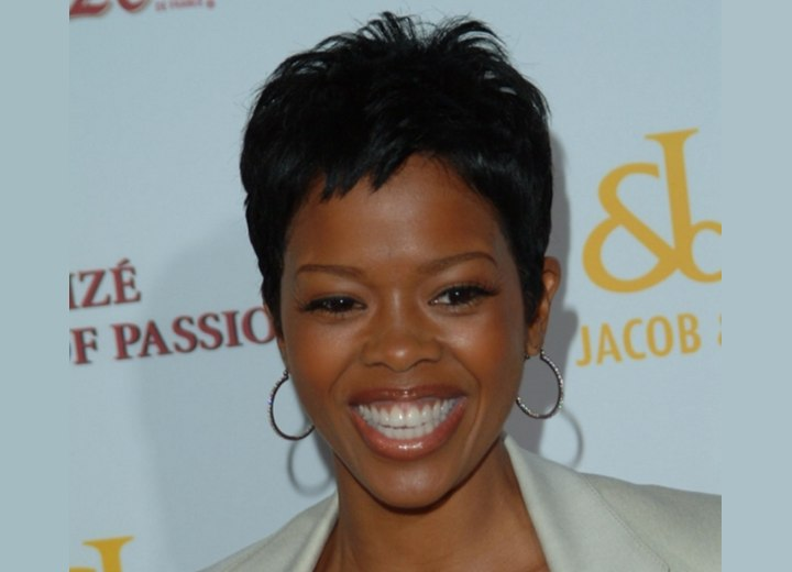 Pixie for African hair - Malinda Williams