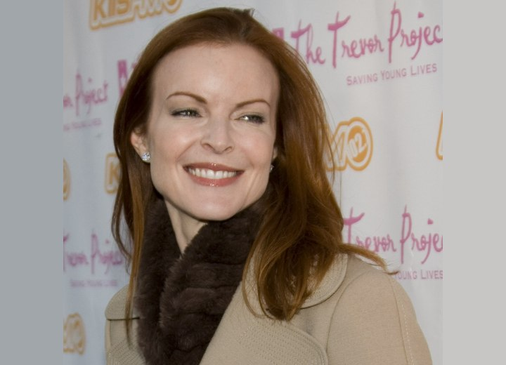 Hairstyle for 40 plus women - Marcia Cross