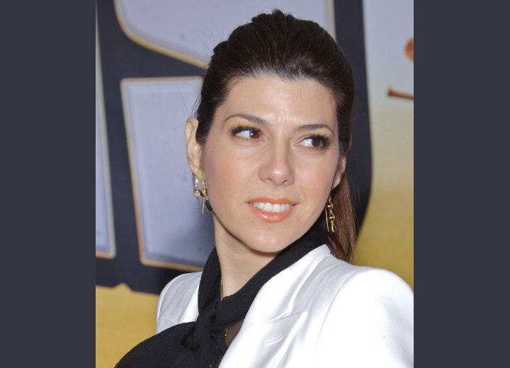 Business look for long hair - Marisa Tomei