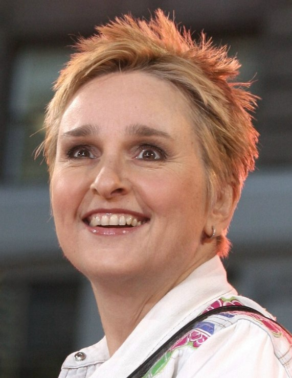 Melissa Etheridge With Her Hair Cut In A Short Crop