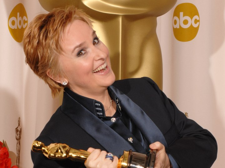 Melissa Etheridge with beautiful short hair