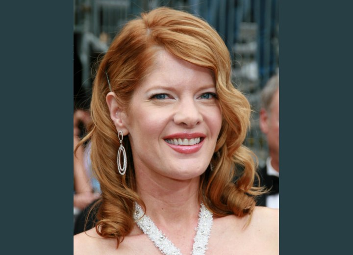 Michelle Stafford - Copper hair and a pale skin