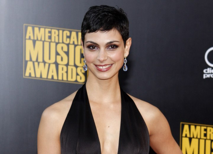 Hair and dress for a Morena Baccarin look