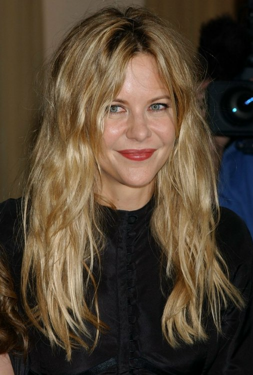Meg Ryan S Natural Look For Long Hair