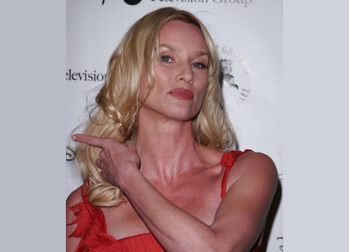 Long 40 plus hairstyle - Nicollette Sheridan