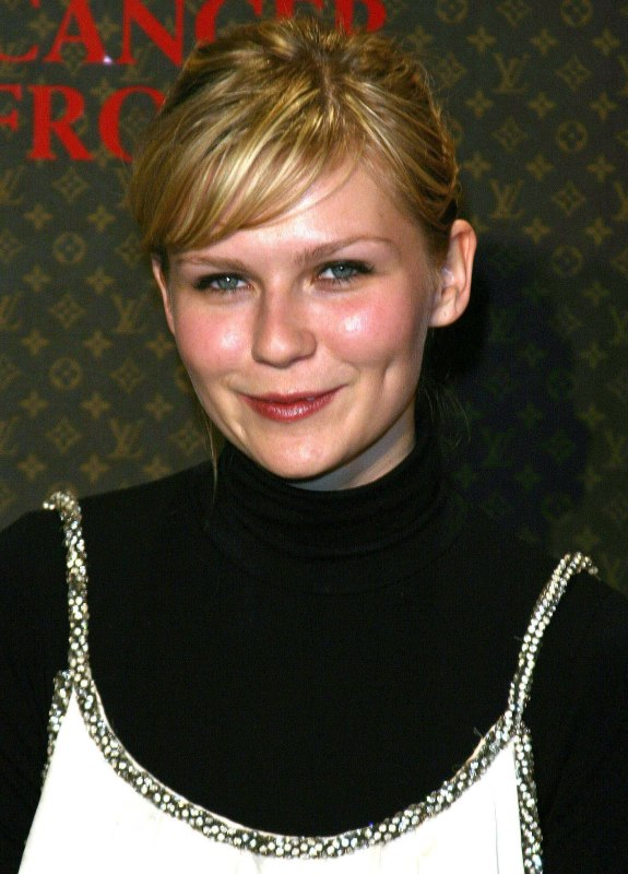 Kirsten Dunst Sporting A Sophisticated Short Haircut Or Pixie