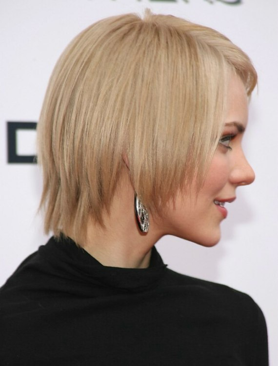 Katharine Mcphee S Easy To Keep Short Hairstyle With