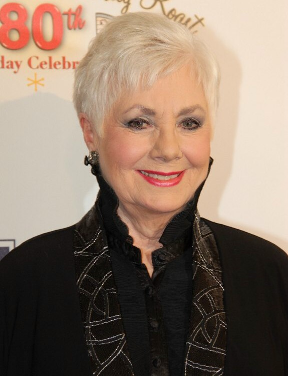 Hairstyle for women aged 80 years and older Shirley Jones