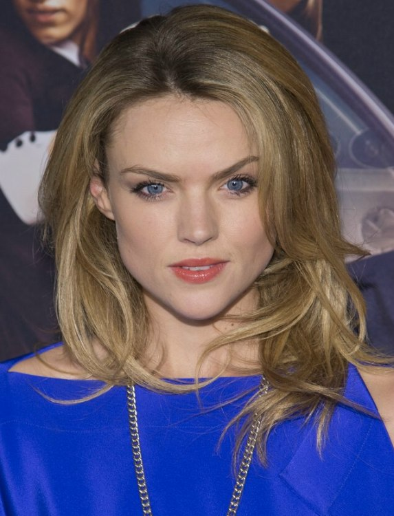 Erin Richards Diva Hairstyle With Long Layers And Height