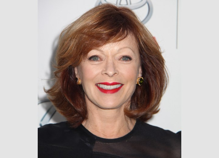 Frances Fisher S Voluminous Bob