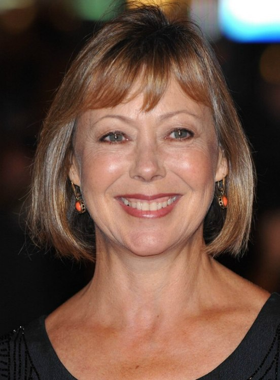 Jenny Agutter With Her Hair In An Easy Youthful Bob That