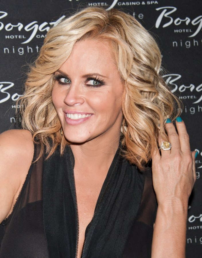 Jenny Mccarthy Thick And Full Shoulder Length Hairstyle
