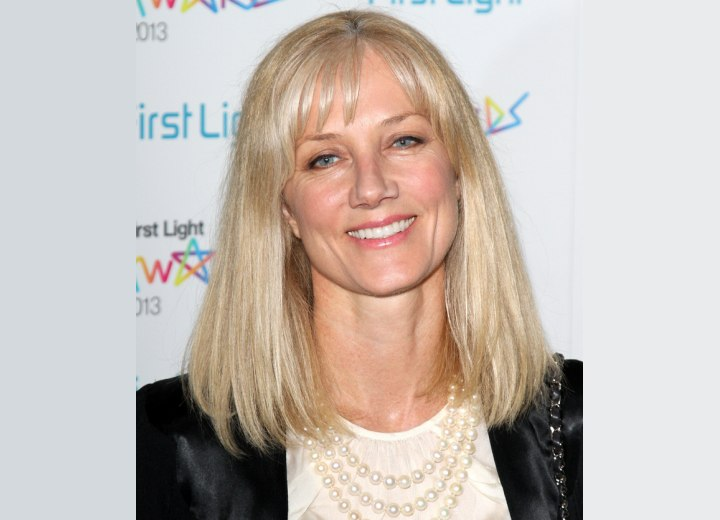 Joely Richardson - Hairstyle for a 50 years old woman