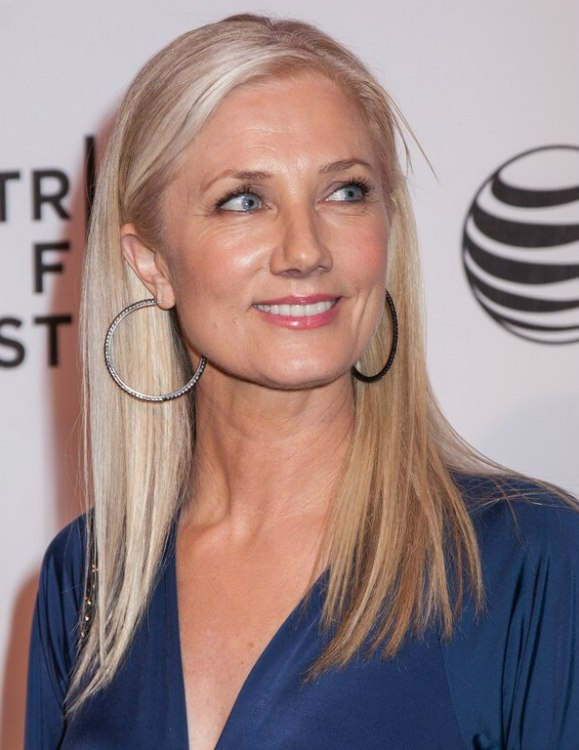 50  joely richardson wearing her hair long and sleek