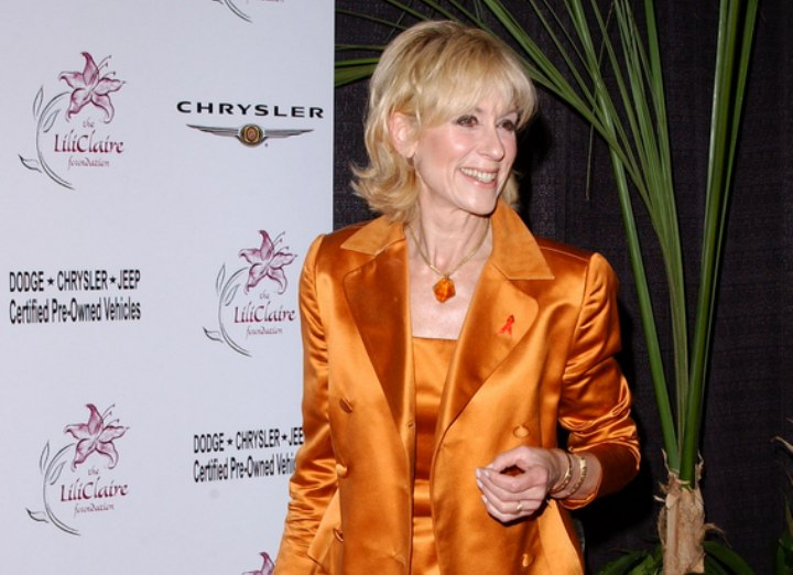 Judith Light with a hair color that suits her age and face