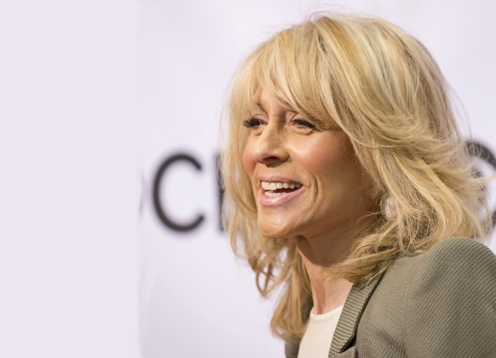 Judith Light with her hair in a shoulder-length bob