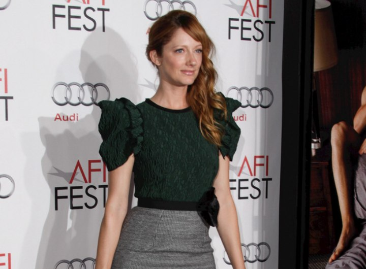 Colors for red haired women - Judy Greer