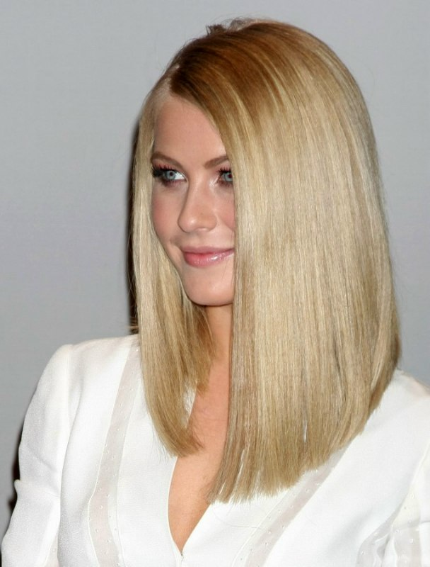 Julianne Houghs Bone Straight And Ultra Silky Hair