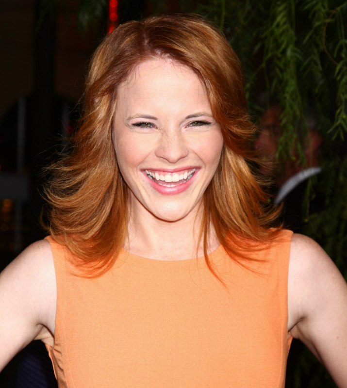 Katie Leclerc Flippy Hairstyle For Warm Red Hair
