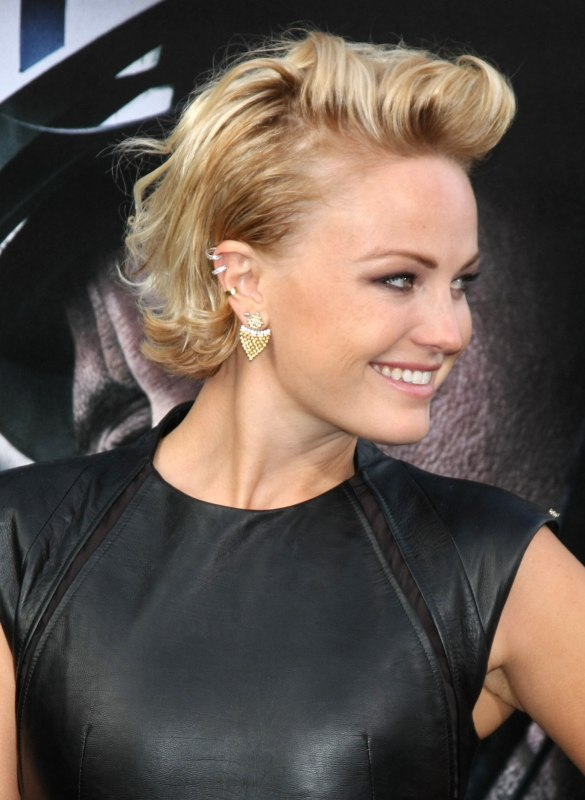 Malin Akerman S Short Hair