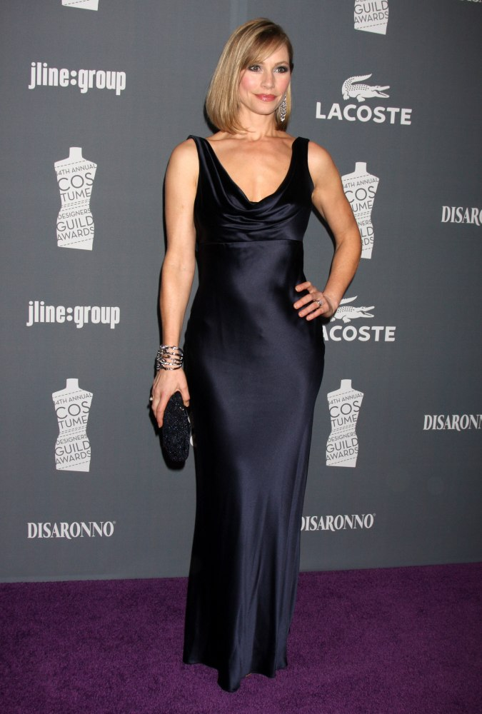 Meredith Monroe wears  (Maxi Dress )
