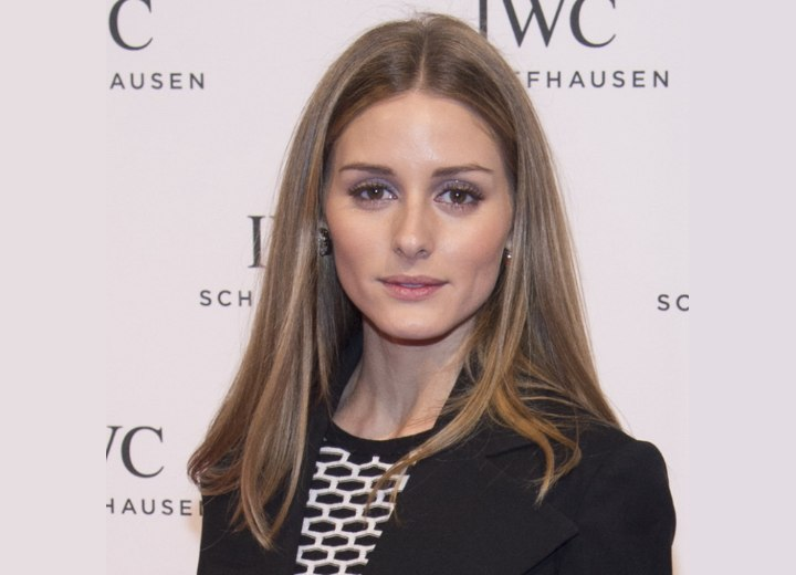Olivia Palermo's shoulder length hair