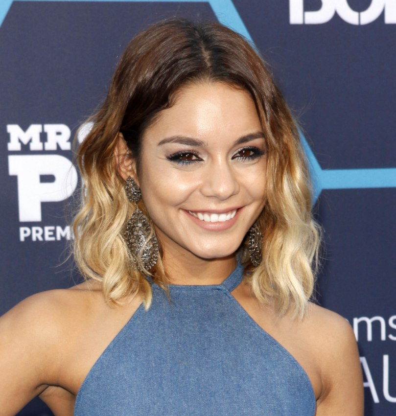 Vanessa Hudgens With Brown To Blonde Ombré Hair