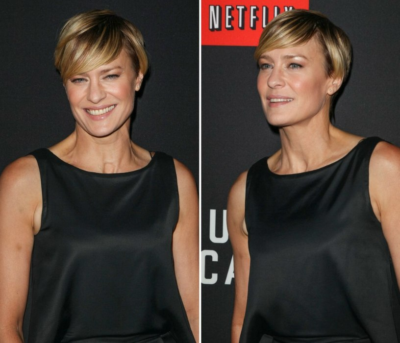 short hair images styles robin wright pixie for of a certain age with 8627 | pixie12