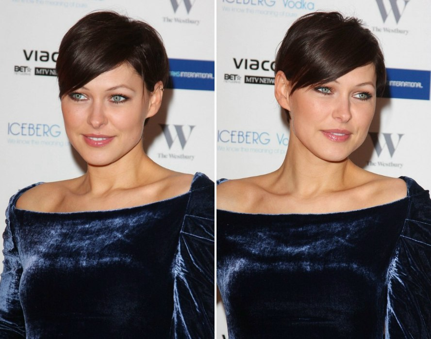Emma Willis Pixie Haircut And Hair Color To Draw