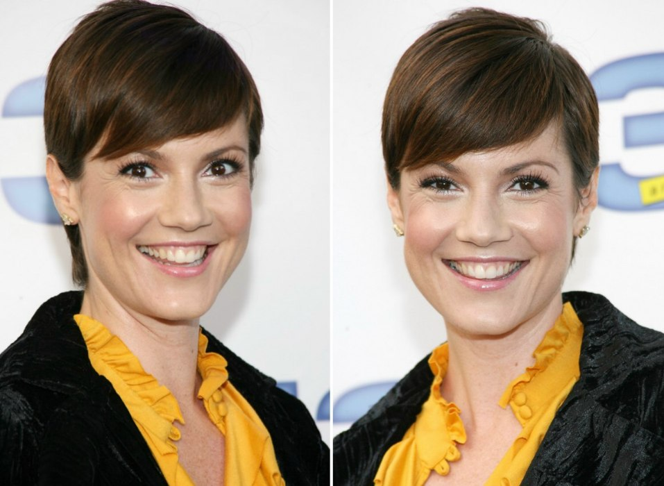 Astonishing Zoe Mclellan Classy Pixie With Combed Over Top Hair Short Hairstyles Gunalazisus