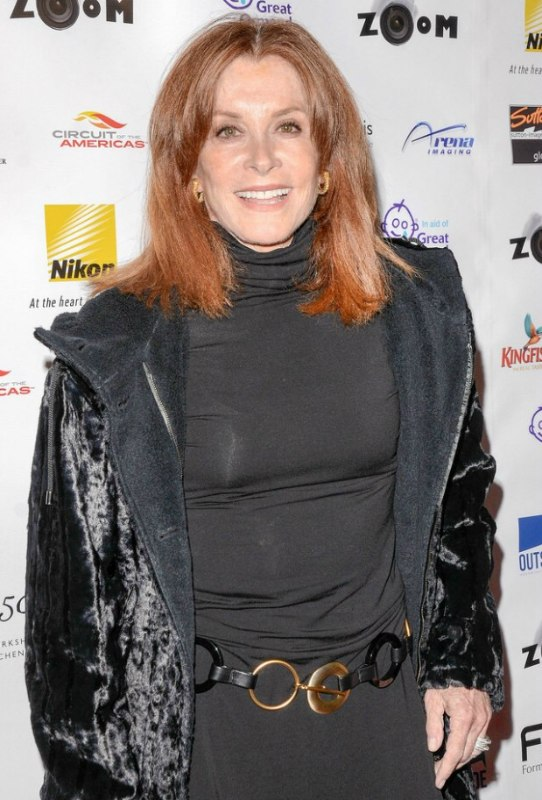 Stefanie Powers Hair And Turtleneck Giving A 70 Plus