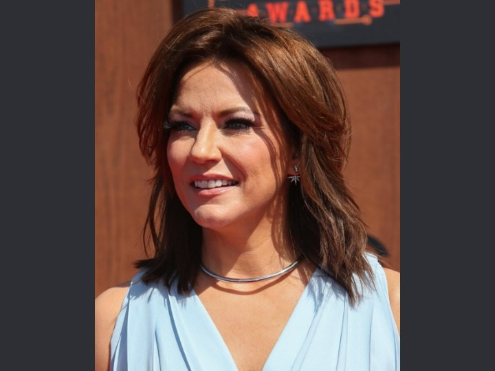 Martina Mcbride S Shag Haircut