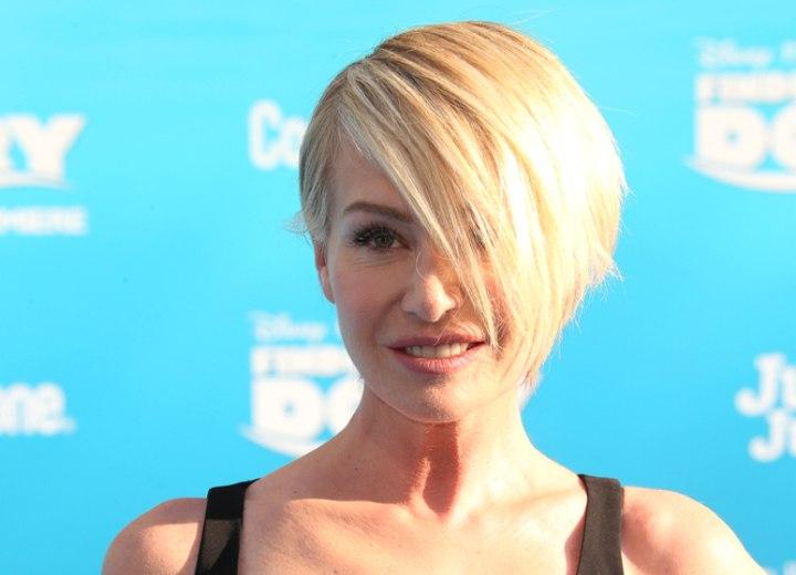 Portia De Rossi S Fun Short Hair