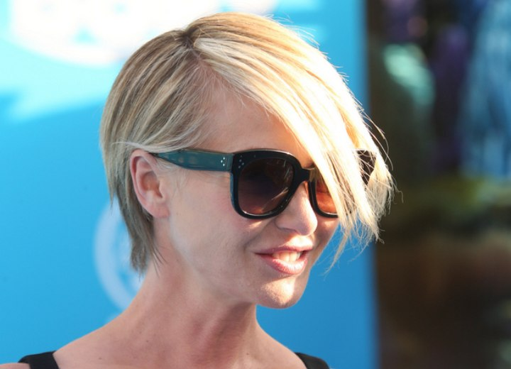 Portia De Rossi S Fun Short Hair