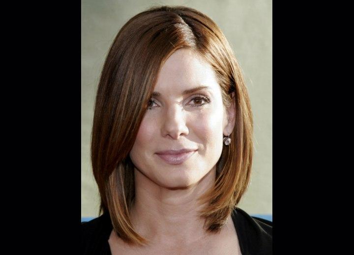 sandra bullock hairstyle. More Sandra Bullock Hairstyles