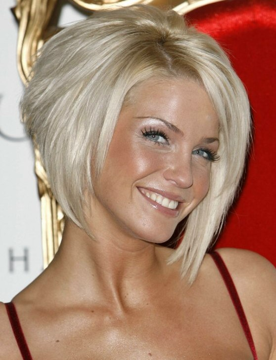 Sarah Harding Edged Up Bob Moving Longer And Angled