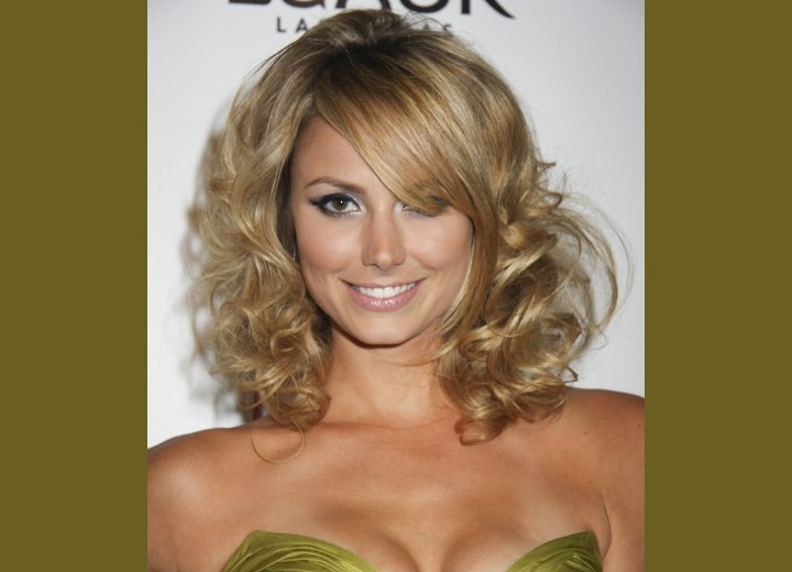 stacy keibler. Stacy Keibler with curls