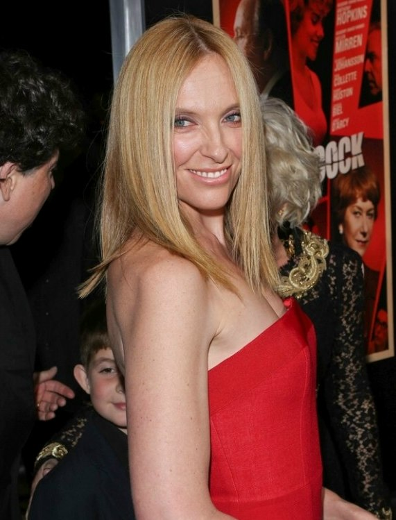 Toni Collette Long Straight Over The Shoulders Bob With