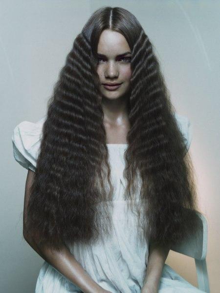 S'onduler les cheveux naturellement
