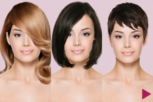 Try on hairstyles