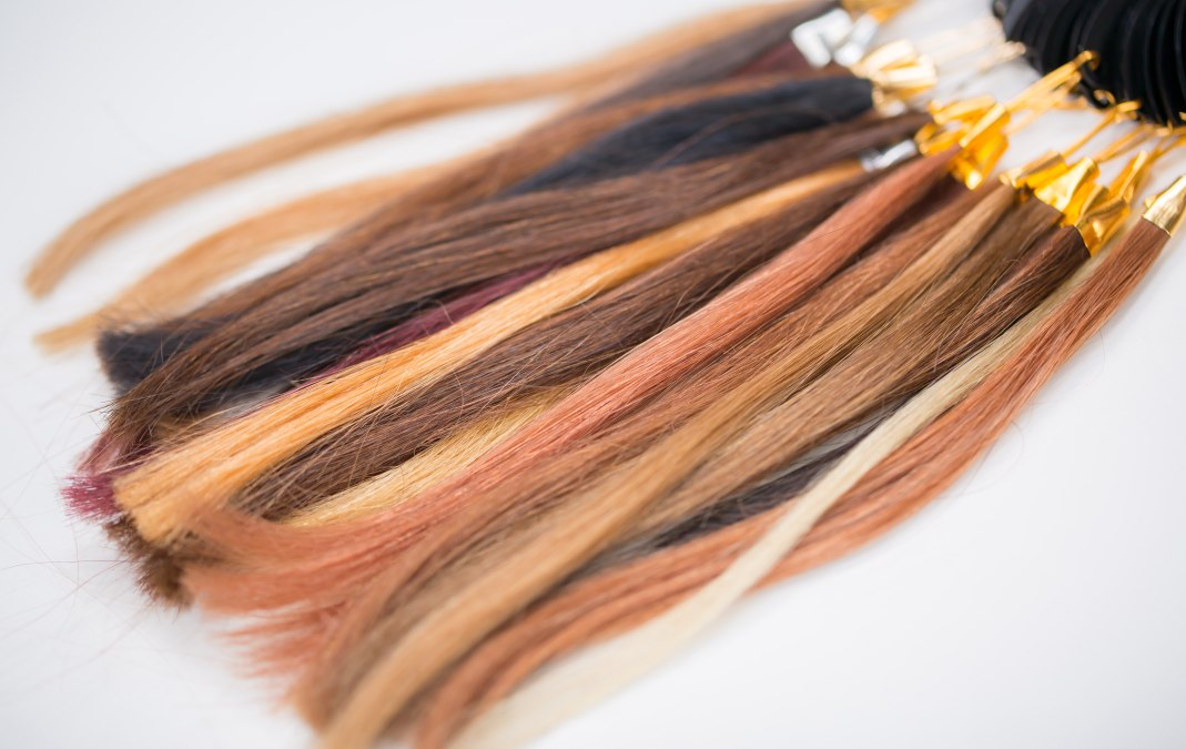 Brassy orange hair color after lightening brown hair and how to hair color swatches urmus Choice Image