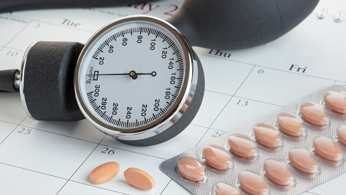 Hypertension medication such as Atenolol and Avapro and..