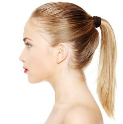 How To Put Hair In A Ponytail
