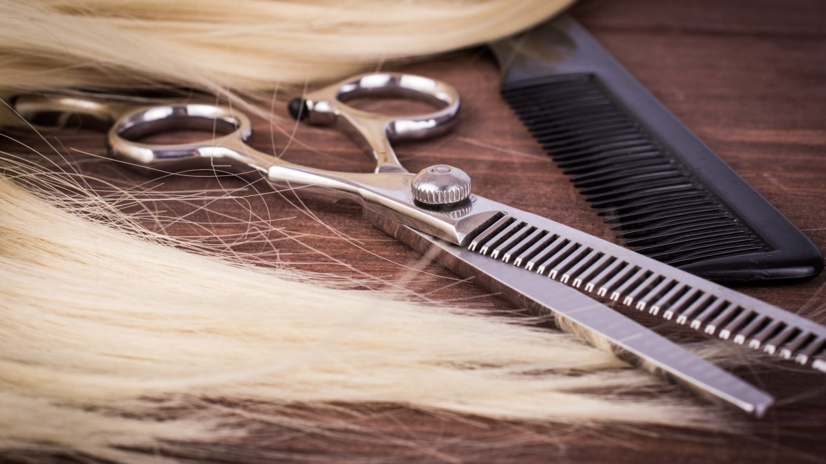Thinning Scissors And Comb